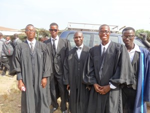 The first graduates
